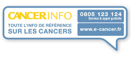 t�l�phone Cancer Info Service : 0805 123 124